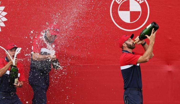 How 'Grandpa' Dustin Johnson led Team US' young stars to Ryder Cup history